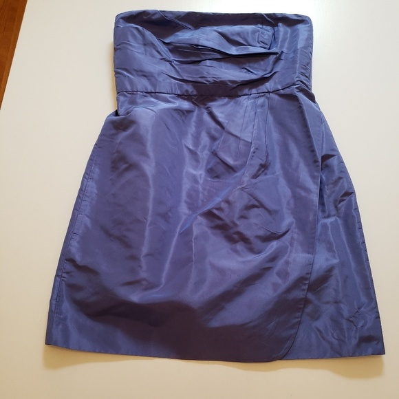 J. Crew Dresses & Skirts - J Crew Selma dress Dark Pacific Blue size 12